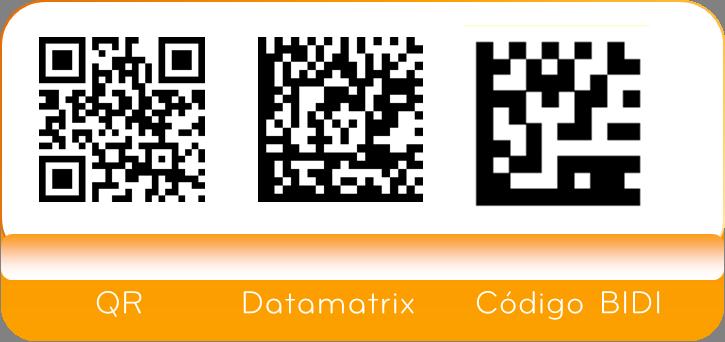 Código QR vs Código BIDI