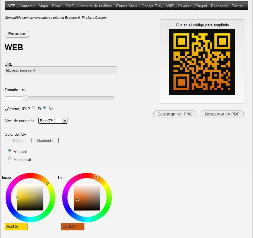 TraQR- Lite: Generador códigos QR gratuito